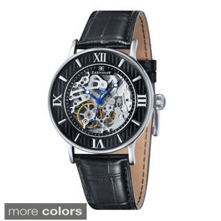 Earnshaw Men's Darwin Skeleton Watch