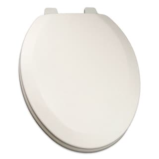 Comfort Seats Deluxe Molded Elongated Wood Toilet Seat
