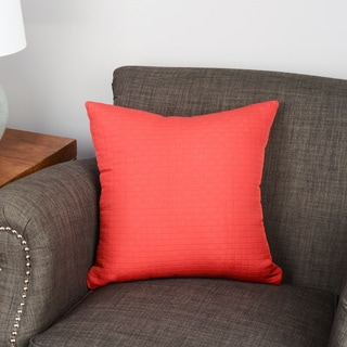 Modern Spa Solid Square Stitched Accent Pillow