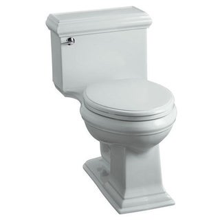 Kohler Memoirs Ice Grey Comfort Height 1.28 GPF Elongated Toilet