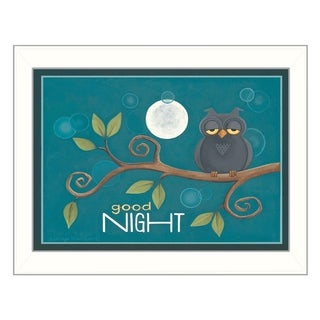 Tonya Crawford 'Good Night' Framed Wall Art