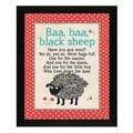 Stephanie Marrott 'Baa Baa' Framed Wall Art