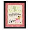 Stephanie Marrott 'Bo Peep' Framed Wall Art