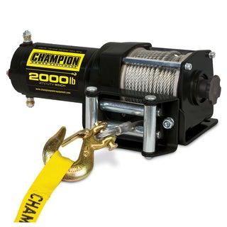 Champion 2000-pound ATV/ UTV Winch Kit
