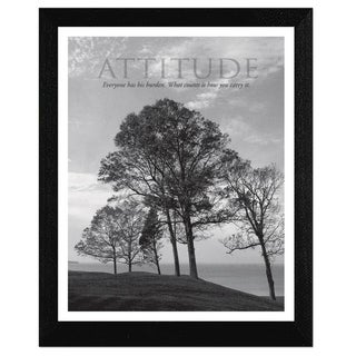 Mary Ruppert 'Attitude' Framed Wall Art