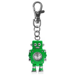 Dakota Moxie Kids' Green Robot Charm Clock with Bonus Slap Watch