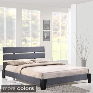 Zoe Queen-size Upholstered Platform Bed Frame