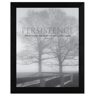 Mary Ruppert 'Persistence' Framed Wall Art