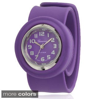 Journee Collection Kid's Silicone Slap Watch