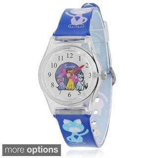 Geneva Platinum Kids' Graphic Print Plastic Watch