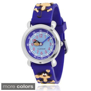 Journee Collection Kid's Silicone Watch