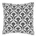 Abstract Seamless Pattern 18-inch Velour Throw Pillow