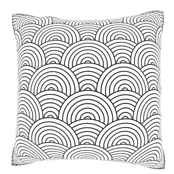 Artex Weave 18-inch Velour Throw Pillow