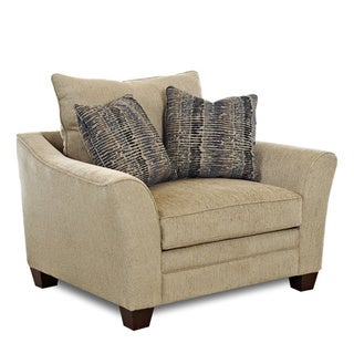 Powell Sandstone Upholstered Arm Chair