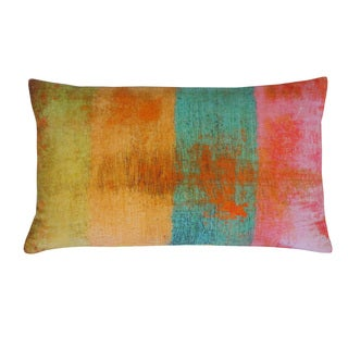 Fresca Multicolored Cotton 12x20-inch Throw Pillow
