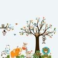 Children's Jungle Tree Vinyl Decal Set