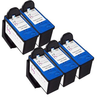 Sophia Global Remanufactured Color Ink Cartridge for Lexmark 5 (Pack of 5)