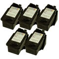 Sophia Global Remanufactured Color Ink Cartridge Replacement for Canon CL-211 (Pack of 5)