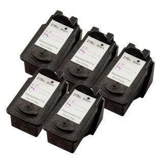 Sophia Global Remanufactured Black Ink Cartridge Replacement for Canon PG-210XL (Pack of 5)