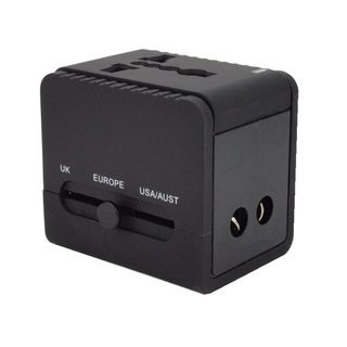 Universal All-in-one International Double USB Travel Power Adapter Plug