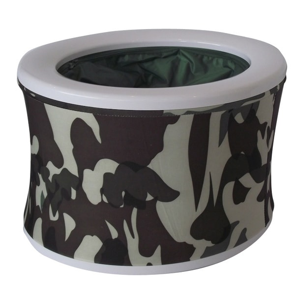 Camouflage Turbo Toilet