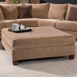 Carmac Collection Latte Ottoman