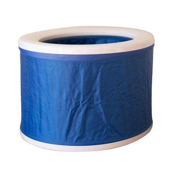 Blue Turbo Toilet