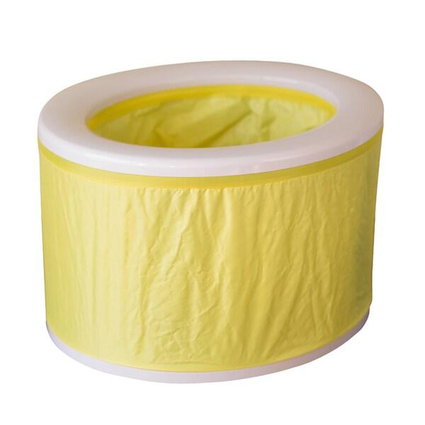 Yellow Turbo Toilet