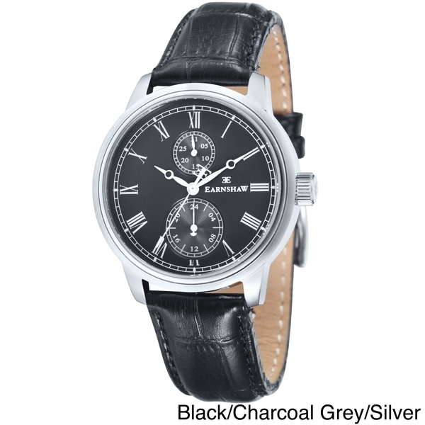 Earnshaw Men's Cornwall Leather Watch