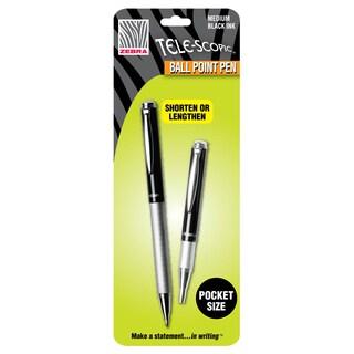 Zebra Tele-scopic Slide Ballpoint Pen (Pack of 2)