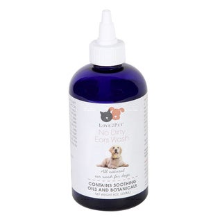 Love2Pet No Dirty Ears 8-ounce All-Pet Ear Wash