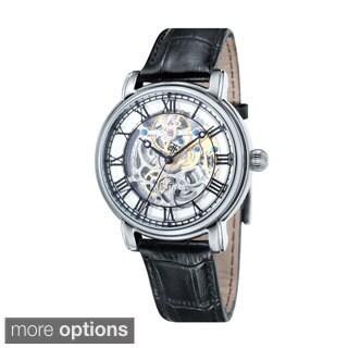 Thomas Earnshaw Men's Longcase Leather Watch