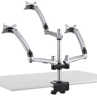 Cotytech Triple Apple Silver Desk Mount Spring Arm