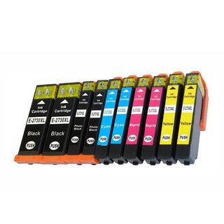 Replacement Ink Cartridges for Epson 273 T273 T273XL (Pack Of 10)