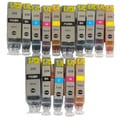 Replacement for Canon PGI-225 CLI-226 Canon PIXMA MG6120 MG6220 MG8120 MG8120B MG8220 (Pack of 15)