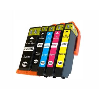 Replacement Ink Cartridges for Epson 273 T273 T273XL T273020 T273120 T273220 T273320 T273420 (Pack Of 5)