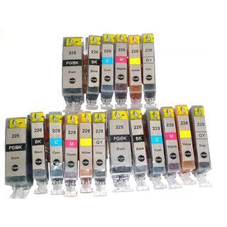 Canon PGI-225 CLI-226 Ink Cartridge PIXMA iP 4820 4920 8720 iX6520 MG 5120 5320 6120 6220 8120 8220 MX 712 882 892 (Pack of 18)