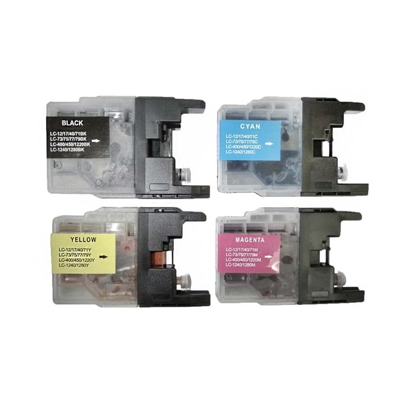 Compatible Brother LC75 Ink Cartridge (Pack of 4)