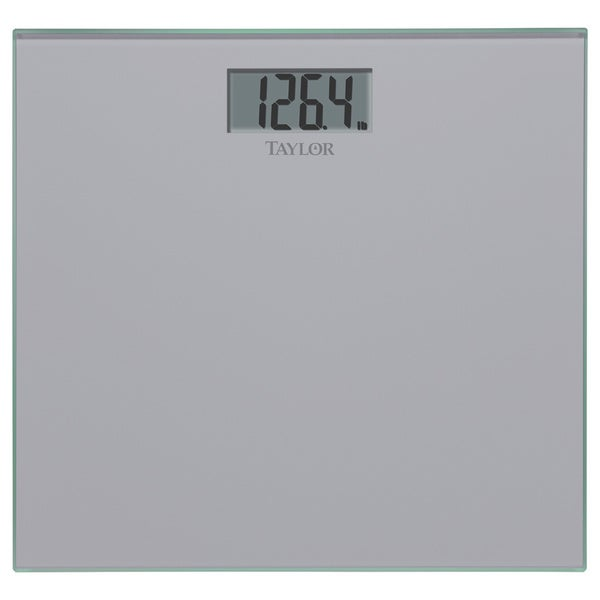Silver Glass Digital Scale
