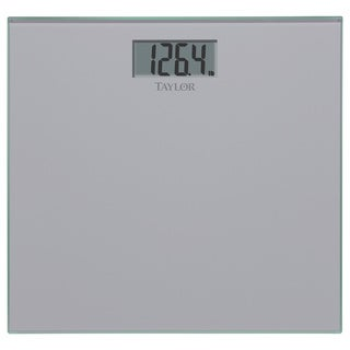 Silver Glass Digital Scale