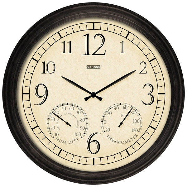 Metal 19.25-inch Garden Clock