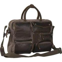 Laurex Urban Style Casual Briefcase Brown