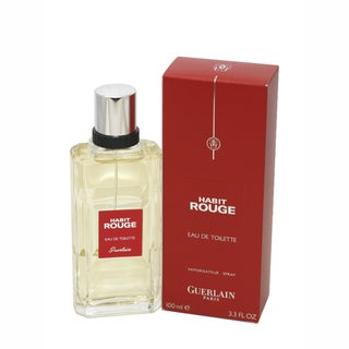 Habit Rouge by Guerlain 3.4-ounce Men's Eau de Toilette Spray