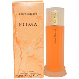 Laura Biagiotti 'ROMA' Women's 3.4-ounce Eau de Toilette Spray