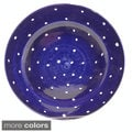 Hand-painted 'Pallini' Polka Dot Dinner Plate (Italy)