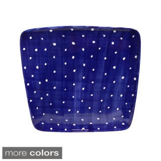 Hand-painted 'Pallini' Polka Dot Serving Tray (Italy)