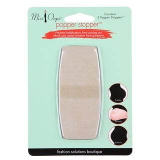 Miss Oops Popper Stoppers Bellybutton Protector (Pack of 10)