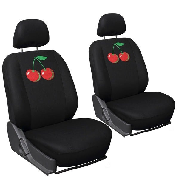 Oxgord Wild Red Cherry 6-piece Seat Cover Set