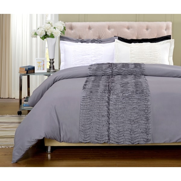 Neola 3-piece Microfiber Duvet Cover Set