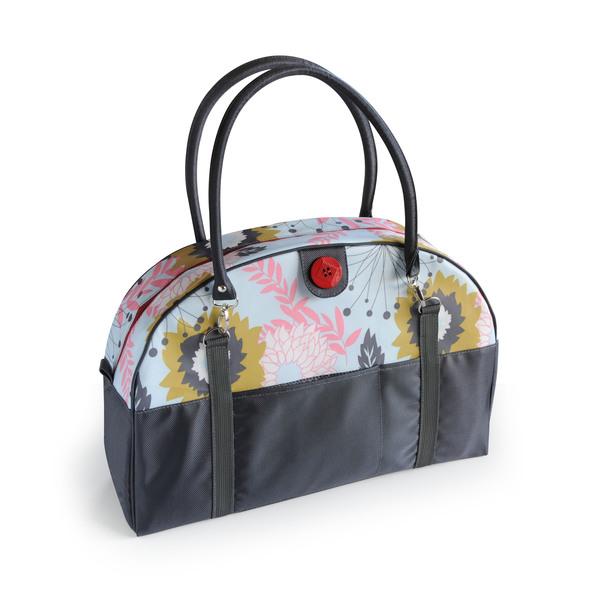 2 Red Hens Coop Carry-all Diaper Bag in Pink Lemonade
